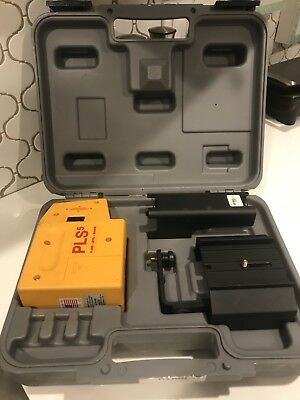 Pacific Laser Systems PLS-5 Laser Level With Case Very Good