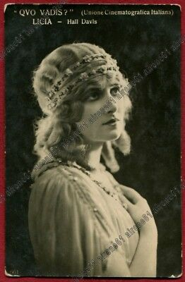 Lillian Hall-Davis 03 Attrice Actress Cinema Muto Silent Movie - Quo Vadis