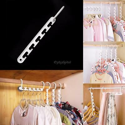 Wonder Triple Closet Hanger Space Saver Tuch Organizer Magic 35DI