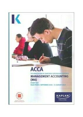 Management Accounting (MA) - Study Text (Acca Study Texts) by Kaplan Publishing