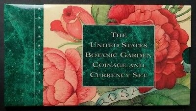 1997 Botanic Garden Coinage and Currency Set - Original US Mint Packaging