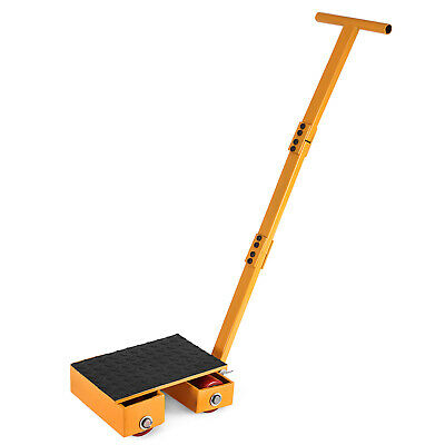 13000LBS Machinery Skate Machinery Mover Rubber Surface Fastship Steel