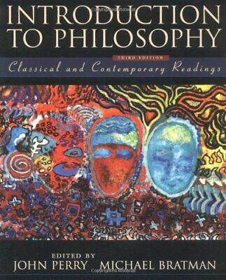 Introduction to Philosophy: Classical and Contemporary Readings Paperback Book
