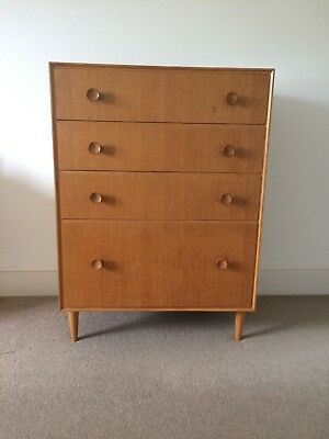 Vintage Meredew Chest of Drawers In Oak