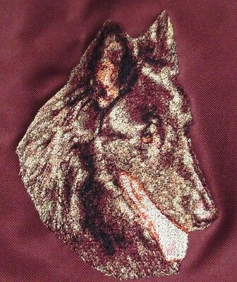 Embroidered Long-Sleeved T-shirt - Belgian Sheepdog DLE1481  Sizes S - XXL