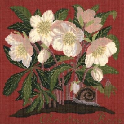 Elizabeth Bradley tapestry chart. The Christmas Rose