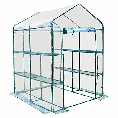Outsunny 5 Ft. W x 5 Ft. D Hobby Greenhouse