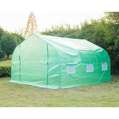 Outsunny 9.8 Ft. W x 11.5 Ft. D Commercial Greenhouse