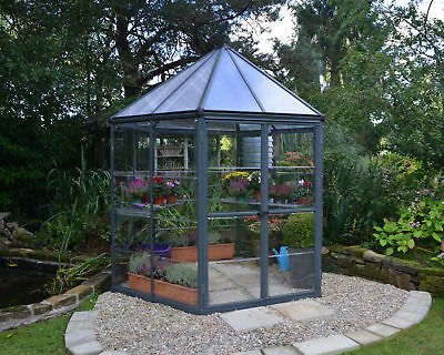 Palram 7 Ft. W x 8 Ft. D Hobby Greenhouse