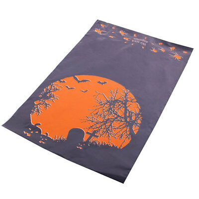 "50 Halloween 10x14"" Mailing Postage Postal Mail Bags"