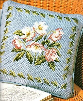 Tapestry chart. Hellebores cushion from Stitchery