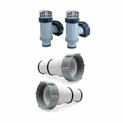 Intex Above Ground Plunger Valves and Replacement Hose Adapter A Maintenance Set