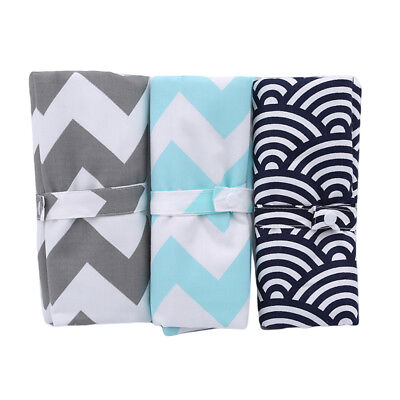 Baby Changing Pad Foldable Travel Diaper Mat Infant Waterproof Nappy Bag Z