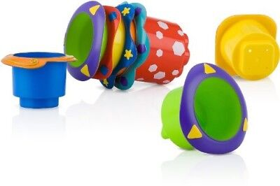 Merchandise 55258600 Nuby Bath Time Stacking Cups 5 Count