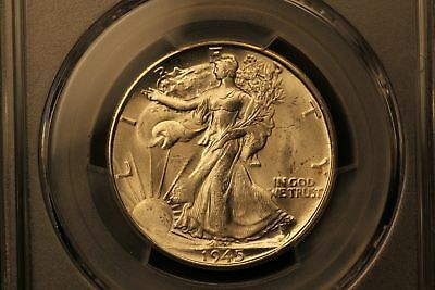 1945-S Walking Liberty Silver 50c MS64 PCGS #35232785