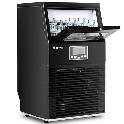 LCD Display Built-In Ice Maker Restaurant Commercial Machine Heavy Duty Portable