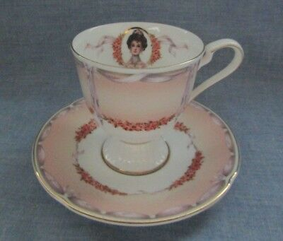 AVON HONOR SOCIETY Mrs. Albee Porcelain Cup and Saucer Set by NIKKO  2000