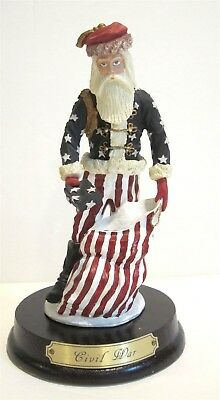 Duncan Royale Civil War History of Santa Claus Mini Collection 6.5""