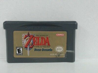 ZELDA LINK TO THE PAST Gameboy Advanced GBA Stickers on Game