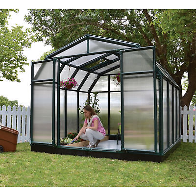 Rion Hobby Gardner 2 Twin-Wall Greenhouse - 8ft. x 8ft., Model# HG7108