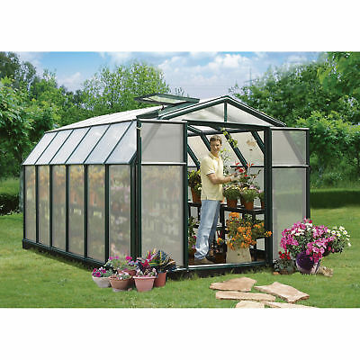 Rion Hobby Gardner 2 Twin-Wall Greenhouse - 8ft. x 12ft., Model# HG7112