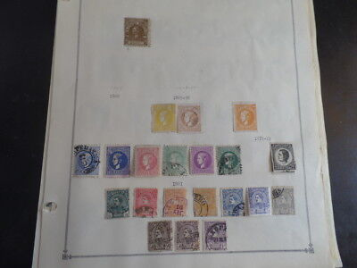 Serbia 1866 - 1920 MH / Used Collection on Album Pages