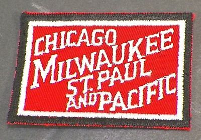 Chicago Milwaukee St Paul And Pacific Train Railroad Patch