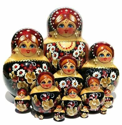 Pearlina 15 Piece Nesting Doll