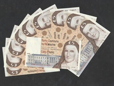 5 Pounds From Ireland 10 Pcs Unc