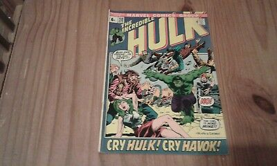 "Marvel Incredible Hulk Comic #150,1972""_Bronze Age Beauty"