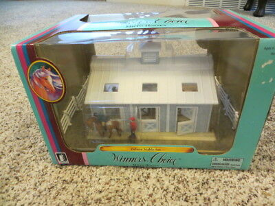 Empire Micro Mini Horse Collection, Winners Choice Deluxe Stable Set