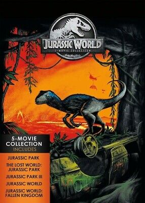 Jurassic World: 5-movie Collection [New DVD] Boxed Set, Collector's Ed