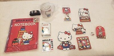HELLO KITTY 2014 KITTY CON 40th Anniversary Collection Set (RARE)