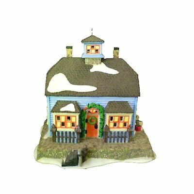 Dept 56 New England Village - Chowder House 56571 Retired In Box
