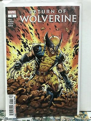 Return Of Wolverine #1 Main Cover First Print 2018 Marvel