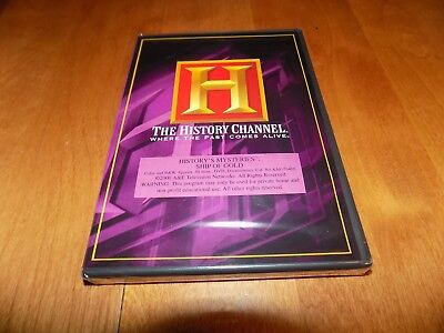 History's Mysteries Ship Of Gold S.s. Central America History Channel Dvd New