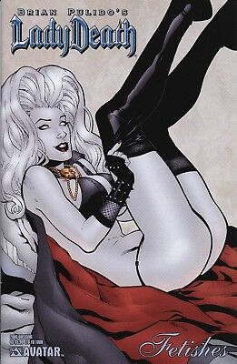 LADY DEATH 2006 FETISHES SPECIAL (Aug 2006) DRESSING Variant NM 9.4