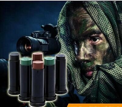 Camouflage GI/Army/Military 3 Colour Face Paint  Waterproof Commando Face Paint