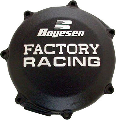 Boyesen Black Factory Clutch Cover For Yamaha YZ WR 250 F CC-37AB