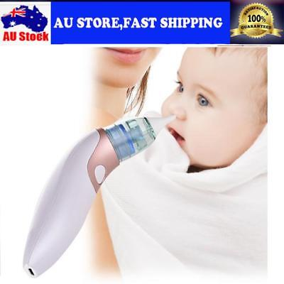 USB Baby Nasal Aspirator Hygienic Nose Snot Cleaner Suction For Infant Toddler
