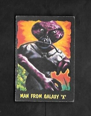 """Bubbles 1966 Scarcer ( Alien Monsters  ) Type Card  """"""""  # 5 Outer Limits  """""""""""
