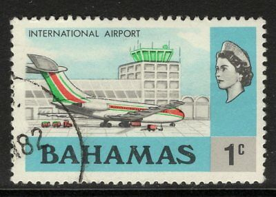 BAHAMAS SG460a 1979 1c DEFINITIVE CHALKY PAPER FINE USED