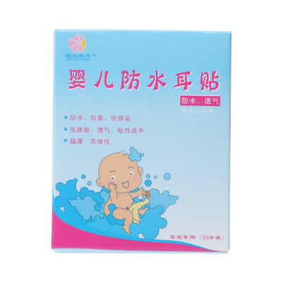 Stickers Earplugs Waterproof  Baby Infant Bath Swimming Waterproof Ear Paste NB
