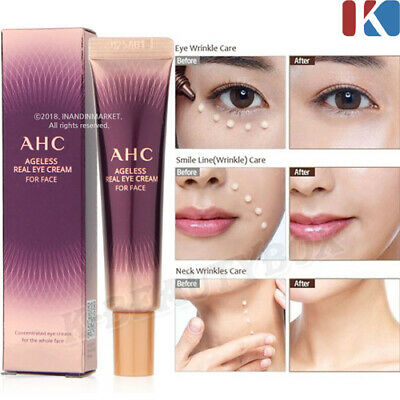 AHC Ageless Real Eye Cream For Face 12ml Season 7 Anti-Aging Cream Made in korea
