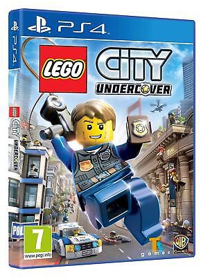 LEGO City Undercover For PS4 (New & Sealed)