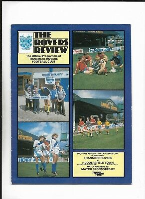 Tranmere Rovers V Huddersfield 13/12/1980 Fa Cup 2Nd Round (5)