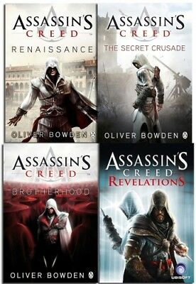 Assassins Creed Collection 4 Books Set NEW Oliver Bowden Revelat | Oliver Bowden