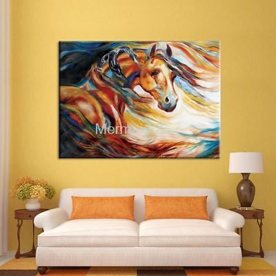 LMOP239 high quality fancy animal horse hand-painted OIL PAINTING CANVAS ART