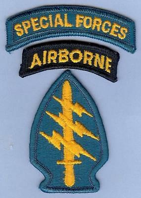 US Army Special Forces Three-Piece Patch Set