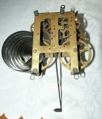 Antique E.INGRAHAM (U.S.A.)Shelf/Wall Clock Movement  Spares/Repair